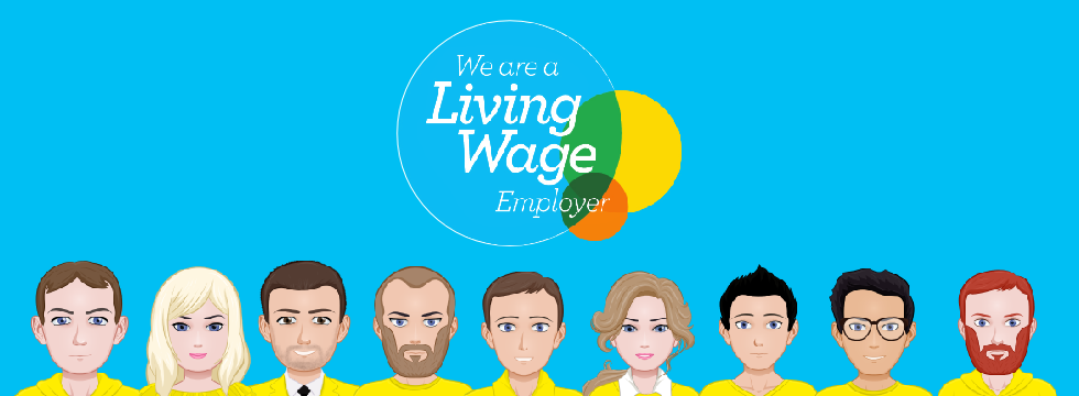 We Are Living Wages Employer